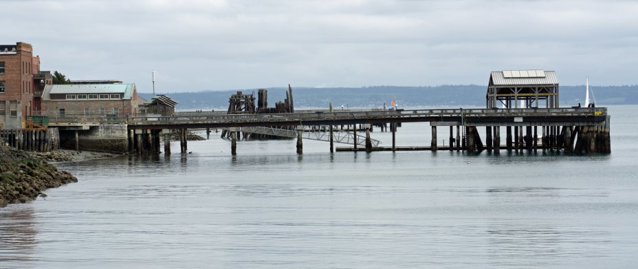 Port Townsend Pier - 2
